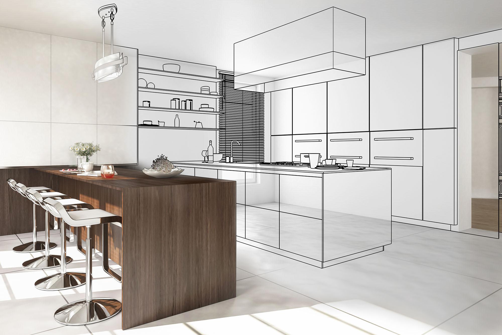 progettazione cucine su misura